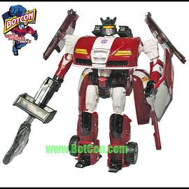 Hasbro - Shattered Glass Ricochet / Botcon 2008 Free with Purchase of the 2008 Boxed set