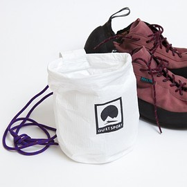 "QUIET SPORT - TYVEK CHALK BAG ""TALL"""