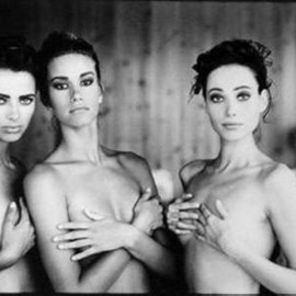 Arthur Elgort - Heather Whyte, Susan Holmes and Irene Pfeiffer, for Italian Vogue, 1991