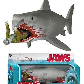 FUNKO - ReAction: Jaws - Bloody Quint and Shark