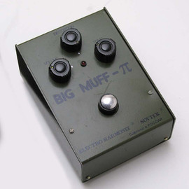 ELECTRO HARMONIX - the Green Sovtek Russian Big Muff