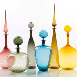 Joe Cariati - Glassblower in Los Angeles, Contemporary Decanters