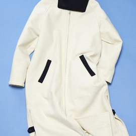PHINGERIN - ALL MELTON BENCH COAT