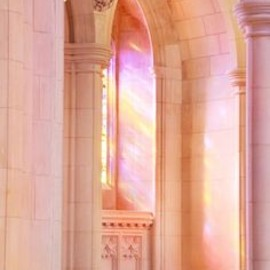 National Cathedral, Washington DC. - An Episcopal Church in rose marble