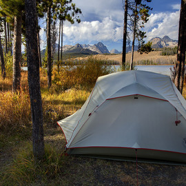 Camp on Little Redfish Lake - Camp on Little Redfish Lake