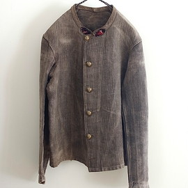 LILY1ST VINTAGE - 1870-1890'S ANTIQUE FIREMAN JACKET