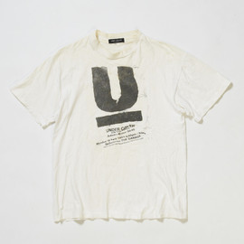 UNDERCOVER - 94-95 AW Collection Ticket Tshirt
