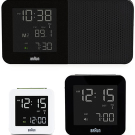 Braun - Digital Alarm Clocks