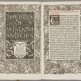 Sulkhan-Saba Orbeliani - The book of wisdom and lies, Kelmscott Press, 1894