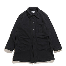 WORKADAY - Shop Coat-Heavy Fleece-Black