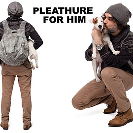 Pleathure - Leather Backpack