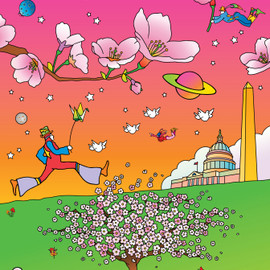 Peter Max - Official 2012 Poster by Peter Max