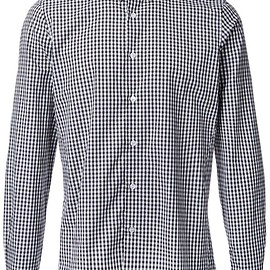 Raf Simons - checked button down shirt