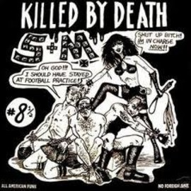 Various Artists - killed by death #8 1/2 LP