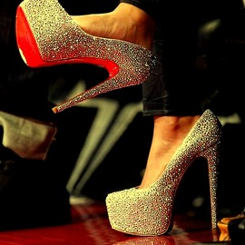 Christian Louboutin - Heels (Beyonce wore at NBA All Star Game)