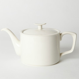 BRANKSOME CHINA - TEA POT WHITE