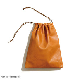 wax store - Leather Pouch - S