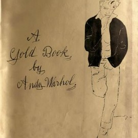 Andy Warhol - Gold Book Cover