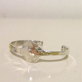 Lin francais d'antan - salt spoon bangle
