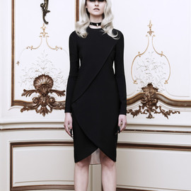 GIVENCHY - Stretch Draped Wrap-Effect Fitted Dress(EXCLUSIVE)