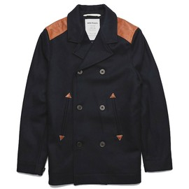 norse projects - birk sailor jacket pea coat NORSE PROJECTS BIRK JACKET | GOODHOOD 20% SALE