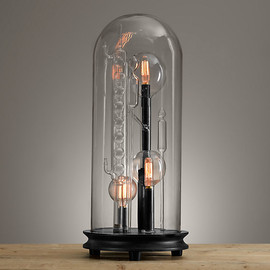 the Chemistry Lab - Chemistry Cloche Lamp