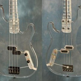 Fender USA - 1989 Fender Custom Plexiglas Precision Bass