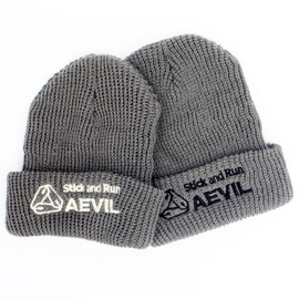 "AEVIL LABELS - Watch Cap ""Stick&Run"""