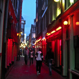 The Netherlands - Red Light District Amsterdam