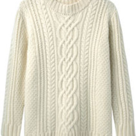 Steven Alan - Steven Alan / Cable Knit Sweater