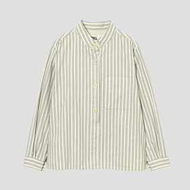 MHL. - COTTON OXFORD STRIPE1