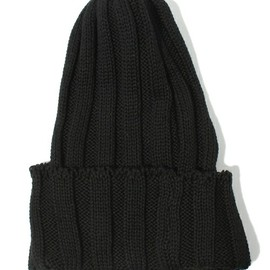 HIGHLAND 2000 - Cotton Rib Watch Cap (Black)
