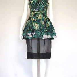 G.V.G.V. - Printed Lawn Bra Cup Dress