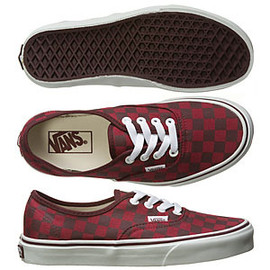 VANS - Checkerboard Authentic Shoes