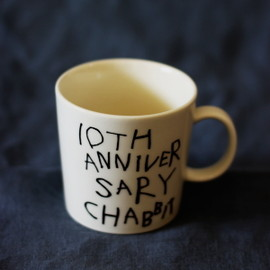 chabbit - 10th anniversary cup