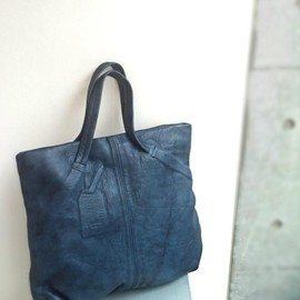 Jas M.B. - 《 SALE 》 Andrew Shopper / New Vein Blue / ¥52,500→¥26,250