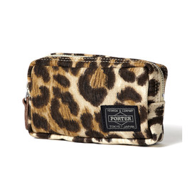 "HEAD PORTER - ""LEOPARD"" CASE (S)"