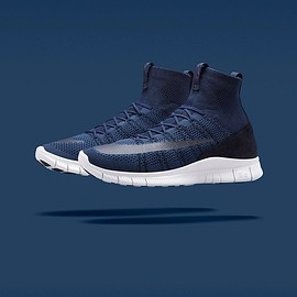 Nike - NIKE FREE MERCURIAL SUPERFLY SP DARK OBSIDIAN/SQUADRON BLUE-SUMMIT WHITE
