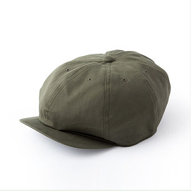 "Just Right - Sports-Newsboy Cap"" Olive Twill"
