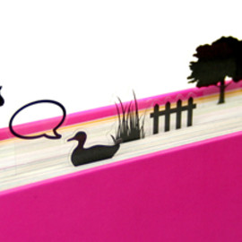 stipee - Clear Book mark