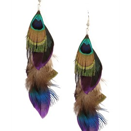CAMPISE - Feather Earrings