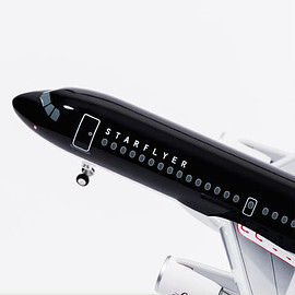 STARFLYER - AIRBUS A320 Scale1:150 Model Plane 25MC 1/150 モデルプレーン