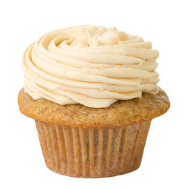 Prairie Girl Bakery - Banana Cupcakes With Peanut Butter Icing