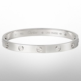 Cartier - Love Bracelet Silver Gold