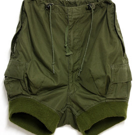 Rebuild By Needles - BDU Rib Short