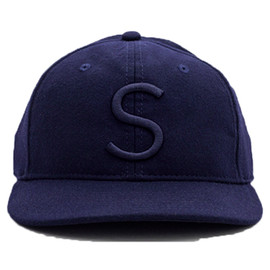 SATURDAYS SURF NYC - RICH FITTED HAT  NAVY