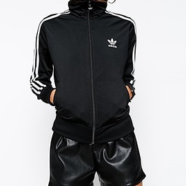 adidas - Originals Lace Back Firebird Track Top