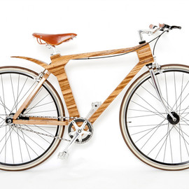 Flat Frame Systems - Engineered Wood frame Bicycle