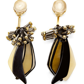 MARNI - Horn Drop Earrings