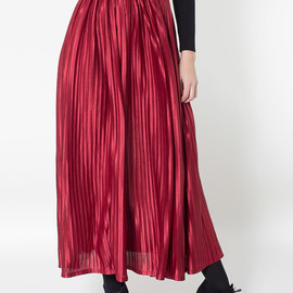 American Apparel - Long Accordion-Pleat Skirt